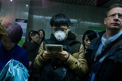 Nameless (Spontaneousnap) Tags: shanghai asia people candid city life urban 上海 ricohgr publicareas documentary like spontaneousnap china subway