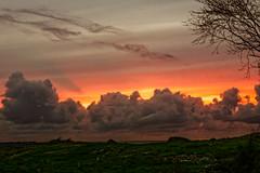 Sandnes in Norway (1 of 1)-13 (heimarkphoto) Tags: sunset solnedgang lys light lightning orange sollys skinnende green grønn grønt himmel heaven