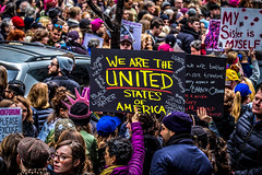 Women's March on NYC (JMS2) Tags: protest people demonstrations signs message movement politics newyork