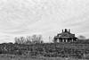 Octagon House (davemihaly) Tags: canon canoneos canoneos3 kodak kodaktmax film bw blackandwhite circleville circlevilleoh ohio