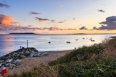 Ringstead Bay (mh218) Tags: dorset portlandbill ringstead alert bay beach coast dusk evening jurassic landscape night panorama pebbles promontory rocks scene scenery scenic sea seascape seaside shingle stone sunset twilight view warning water