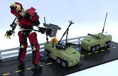 Hexham ACV (Sunder_59) Tags: lego moc render blender3d mecabricks mech mecha vehicle military scifi future story