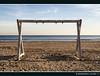 Inquadrando l'infinito/Framing the infinite (via_parata) Tags: mare sea cornice frame spiaggia beach orizzonte horizon ghirri seascape