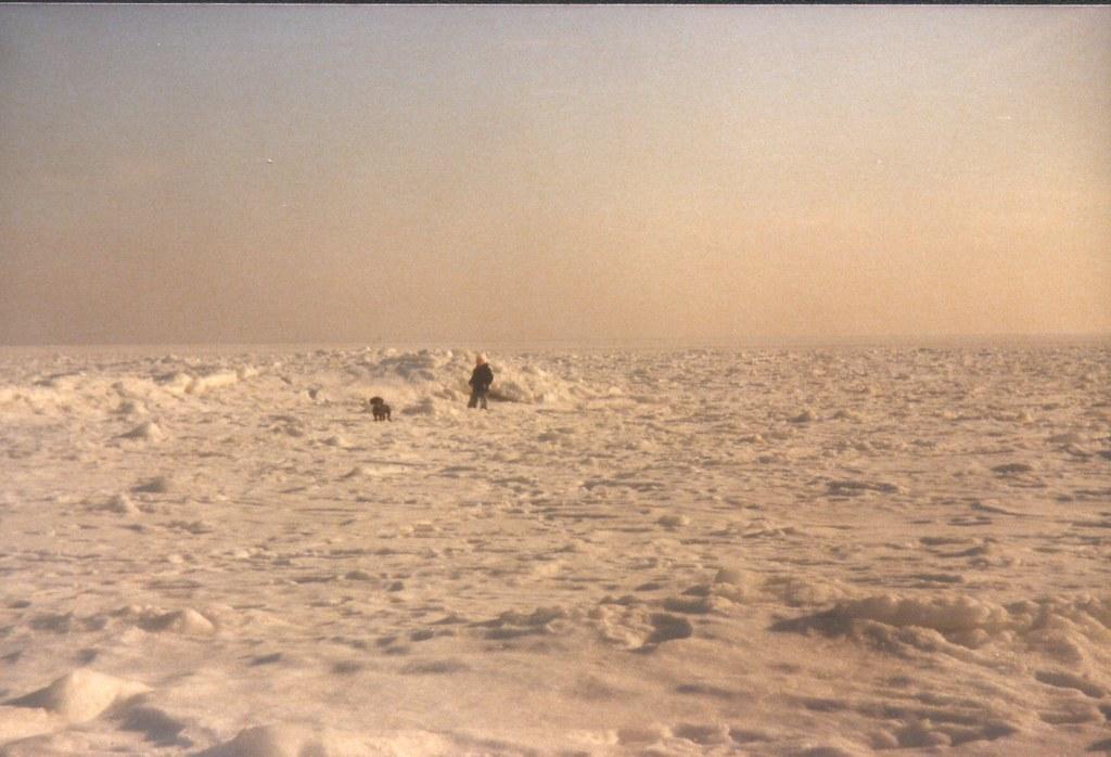 zugefrohrene Ostsee