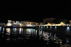 Greece is... (sifis) Tags: greece island night light sakalak nikon port sea