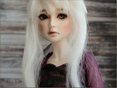 Grey eyes for Sasha, what do you think about it? (Essential Resinescence) Tags: doll bjd resin poupee souldoll soulkid yeonsoo msd