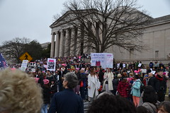 """""""Dumbledore Wouldn't Let This Happen"""" (railsnroots) Tags: demonstrations first amendment womens march protest signs"""