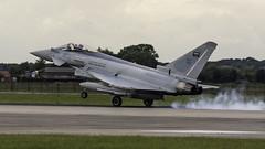 2013 :  RSAF Typhoon F2 313 (Hermen Goud Photography) Tags: 313typhoonf210sq airfields canon egxcrafconingsby england eos40d militair photo saudiarabia vliegvelden aviation
