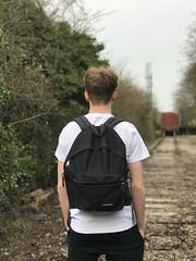 Explore the World (Harry_Ball) Tags: eastpak iphone blur portrait trains abandoned explore roaming world