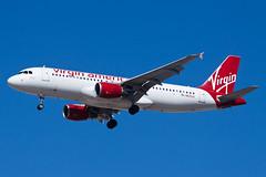 Virgin America Airbus A320 N625VA (jbp274) Tags: las klas airport airplanes mccarran virgin virginamerica vx airbus a320