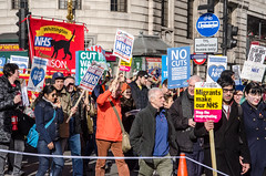 March for the NHS (Gaz-zee-boh) Tags: marchforthenhs 4march2017 nationaldemonstration supportthenhs endtheprivatisationofthenhs london tradeunions nhs protest almostanything nikon d7k