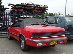 1988 Chrysler LeBaron Convertible U9 (peterolthof) Tags: hoogkerk peterolthof gnps34 chrysler lebaron