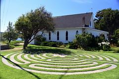 Emmanuel Episcopal Church (Worthing Wanderer) Tags: washington usa sunny summer hot sea mountains islands sanjuanislands orcasisland anacortes eastsound