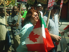 No One Is Illegal  National Day of Action - Toronto March, Saturday May 27, 2006 - 022 (HiMY SYeD / photopia) Tags: people toronto march civilrights socialjustice workersrights nooneisillegal immigrantrights