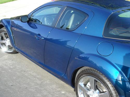 Phantom Blue Mazda Paint Code