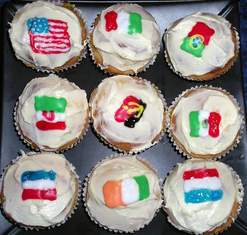World Cupcakes 3