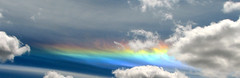 Circumhorizon Arc (Carplips) Tags: rainbow spokane atmosphere bluesky cirrus circumhorizonarc