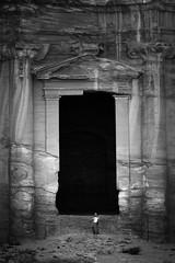 The door to the Monastry (Tobyloc (again)) Tags: jordan
