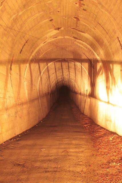 漆黒のトンネル