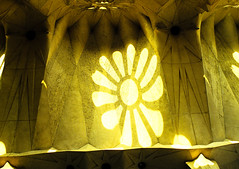In the Sagrada Familia