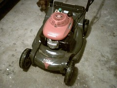 New Lawnmower (Nizur) Tags: honda lawnmower mower