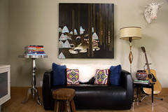 new lamp for my living room (The 10 cent designer) Tags: livingroom margauxwilliamson oldfloors june2006 paintingby 10centhome beforethereno infrontoftheloveseat