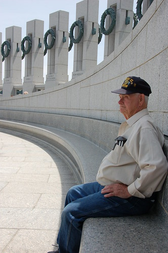 Veteran - World War II Memorial by Scott Ableman.