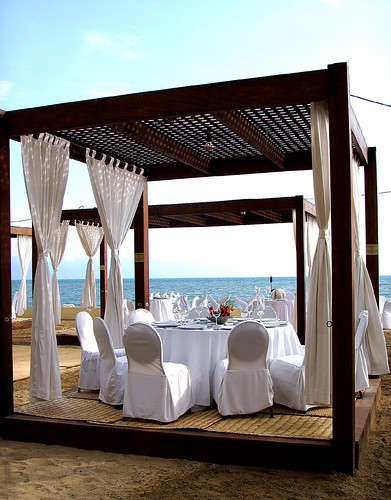 puerto vallarta wedding reception pergola Image by chotda via Flickr