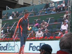 Kevin Federline, oops I mean Marat Safin, at the French Open (aloha_pineapple) Tags: paris france tennis rolandgarros grandslam frenchopen maratsafin frenchopen2006