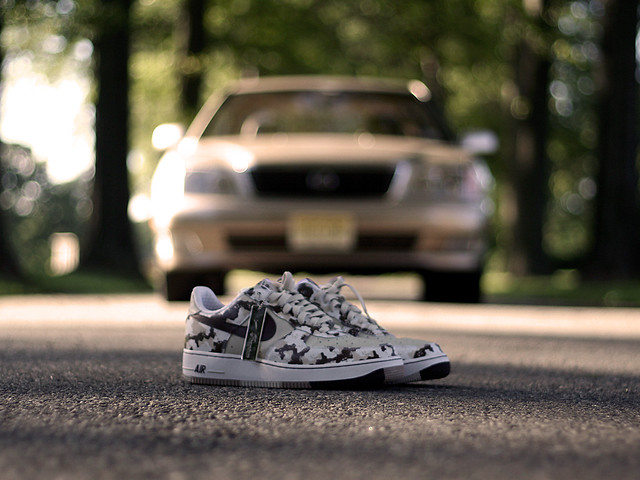 Sneakers and Cars