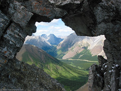 "Mt. Tyrwhitt ""The Window"" - tyrwhitt nature kananaskis canada mountains trywhitt alberta gettyimages window"