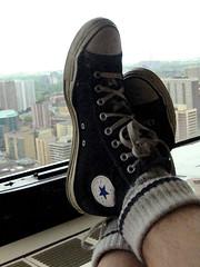 Converse at work...