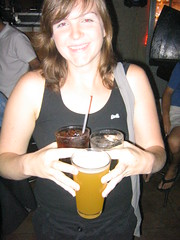 Brennan and her three drinks (Seeking Irony) Tags: hejhej
