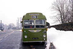 Awheel with Fray. (Fray Bentos) Tags: snow bus bristolomnibusco bristolmw