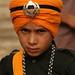 Gatka Team Member for the Camera, Amritsar (INDIA)