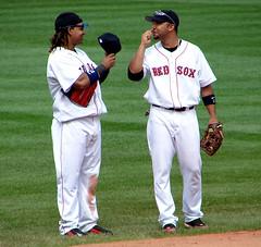 Alex Gonzalez with Manny