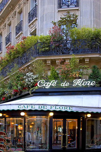 Cafe de Flore, Paris