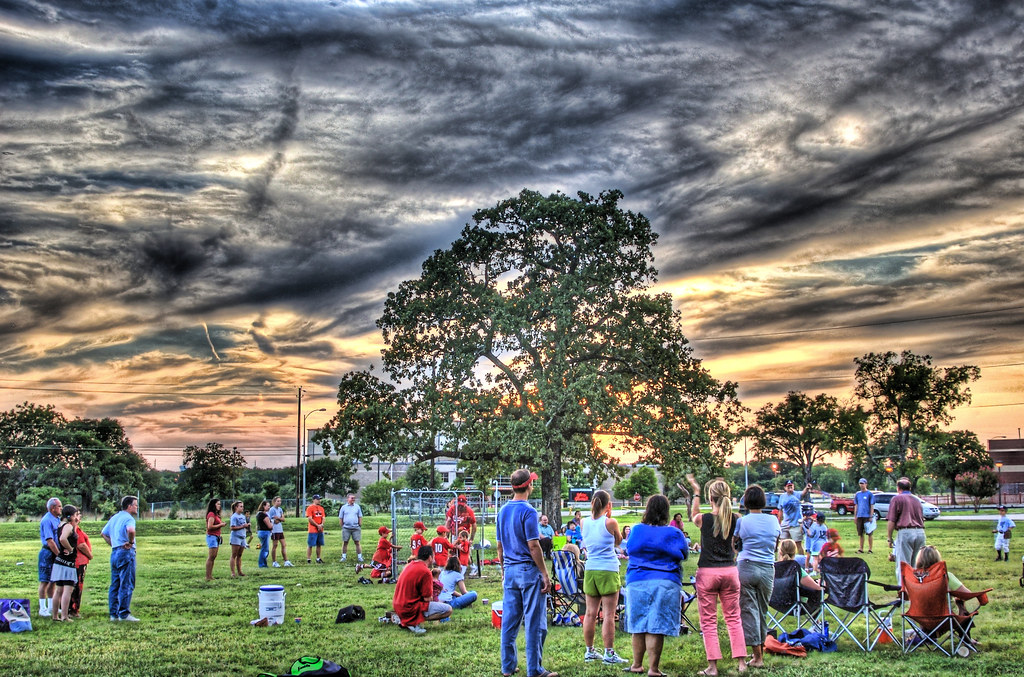 Sunset at T-Ball