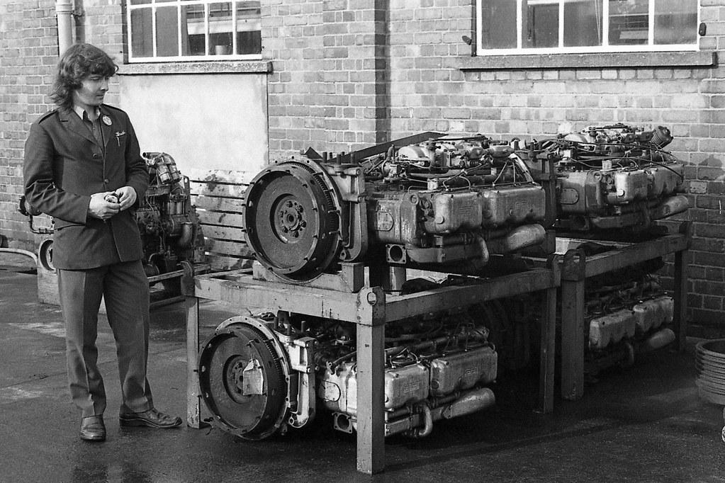 The Gardner LW engine.