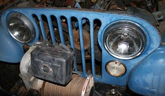 jeep engine system housing grille amc winch radiator hoses thermostat cooling 304 teardown warn alteranator