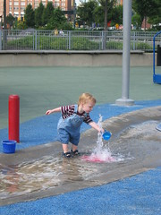 cute toddler getting water by pengrin�, on Flickr