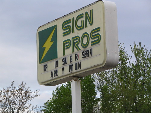 Sign Pros?