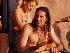 Do you hear the music? (Iveta) Tags: summer people hippies spain sommer ibiza lovepeace eivissa spanien iveta calabenirras byiveta