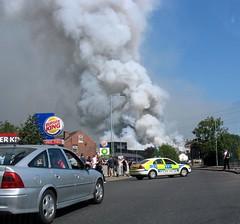Fletcher's fire! 0953 Sheffield (Mike-Lee) Tags: work sheffield views
