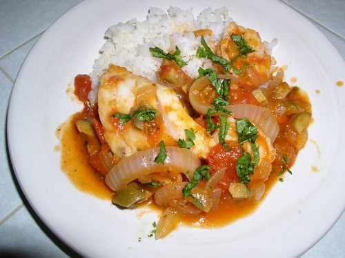 Armida cooks braised swordfish puerto rican style im calling this recipe puerto rican style because it seems that every time my mom makes puerto rican food my step dad is boriqua she uses the same forumfinder Gallery
