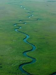 Meanders (Makgobokgobo) Tags: africa landscape worldheritagesite botswana okavango whs okavangodelta