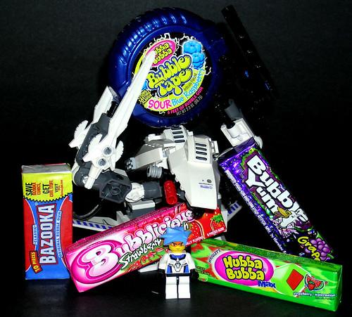 Gum Chewing Man S Stuff