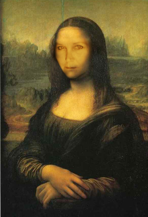 Self-Portrait Challenge -- Mona Kima
