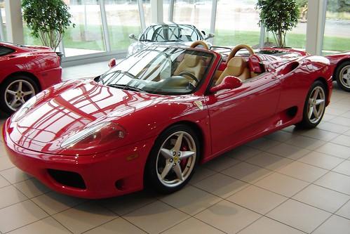 Фотографии Ferrari 360 Spider
