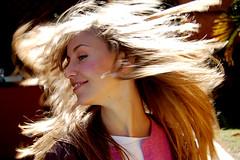 Karol (carlosedj) Tags: portrait hair retrato highlights blonde cabelo loiro nikonstunninggallery realces
